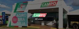 banner campo 40 anos - fachada de evento
