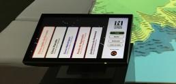 controle interativo para projeção em stand interativo